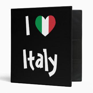 I Love Italy Binder