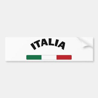 I Love Italy Bumper Sticker