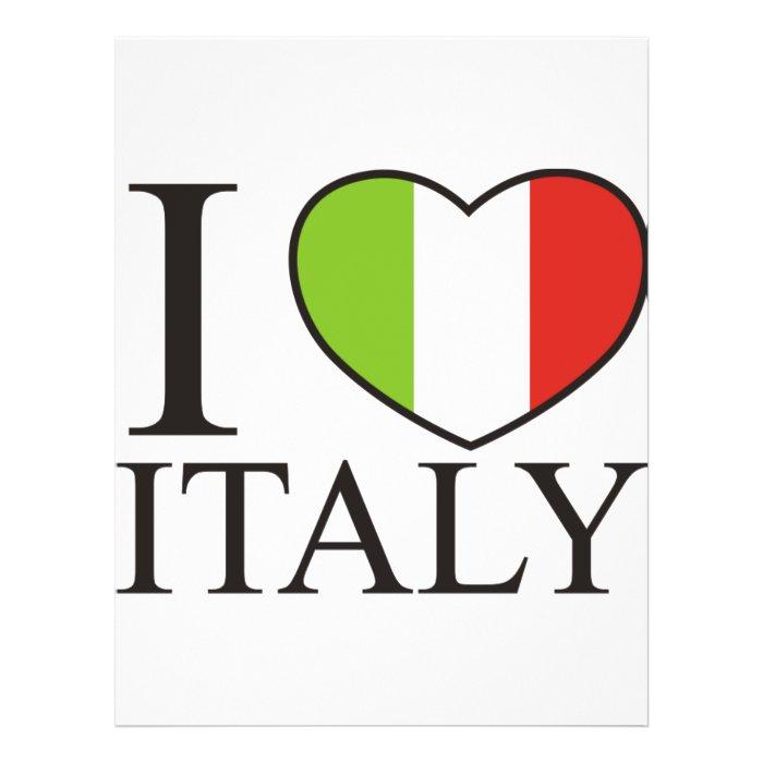 I Love Italy Flyer