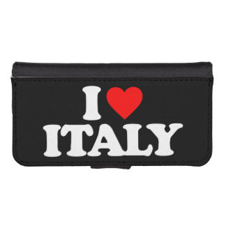 I LOVE ITALY iPhone SE/5/5s WALLET CASE