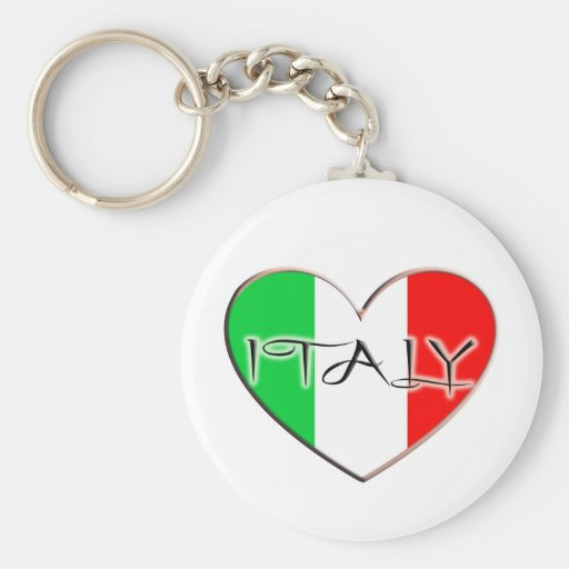 I LOVE ITALY KEY CHAINS