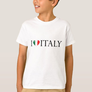 """""""I love Italy"""" kids shirt"""