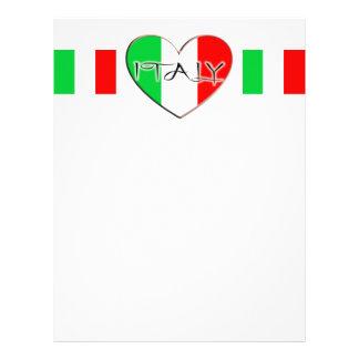 I LOVE ITALY LETTERHEAD