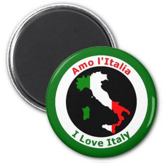 I LOVE ITALY MAGNET