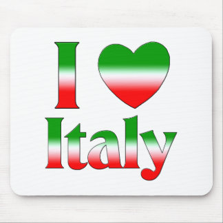 I Love Italy Mouse Pad