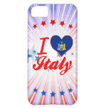I Love Italy, New York Case For iPhone 5C