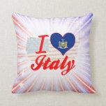 I Love Italy, New York Pillows