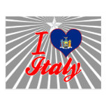 I Love Italy, New York Postcard