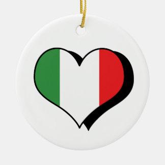 I Love Italy Ornament