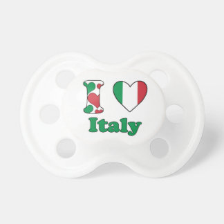 I love Italy BooginHead Pacifier