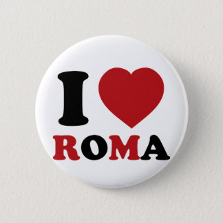I Love Italy Pinback Button