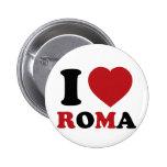 I Love Italy Pins
