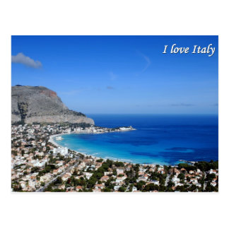 I love Italy postcard