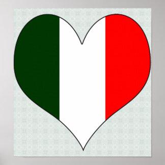 I Love Italy Poster
