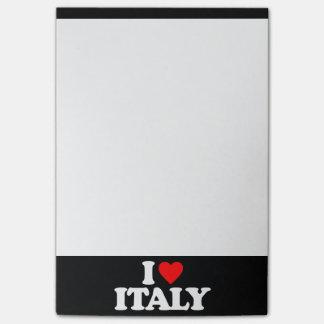 I LOVE ITALY POST-IT® NOTES