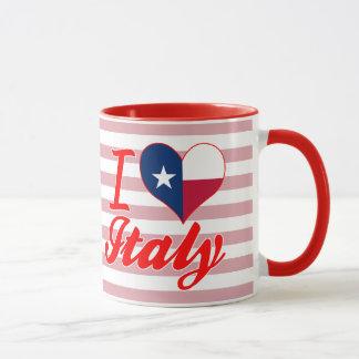 I Love Italy, Texas Mug