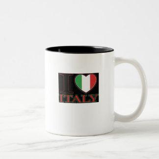 I love Italy Two-Tone Coffee Mug