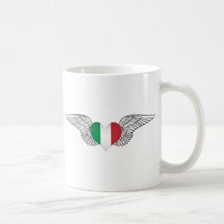 I Love Italy -wings Mugs