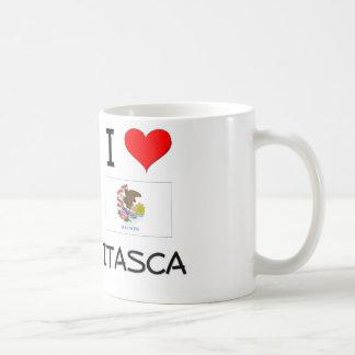 I Love ITASCA Illinois Coffee Mug