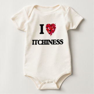 I Love Itchiness Baby Bodysuit