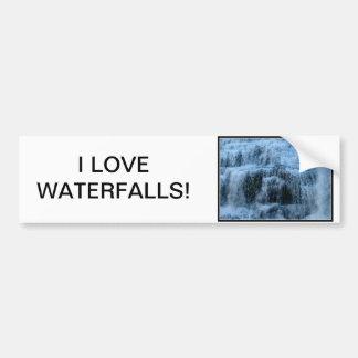I love Ithaca Falls, New York! Bumper Stickers