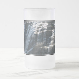 I love Ithaca Falls, New York! Frosted Glass Beer Mug