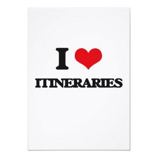 I Love Itineraries Card