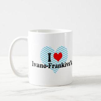 I Love Ivano-Frankivs'k, Ukraine Coffee Mug