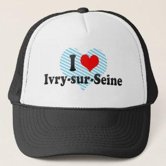 I Love Ivry-sur-Seine, France Trucker Hat