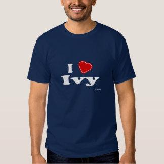 I Love Ivy T Shirt