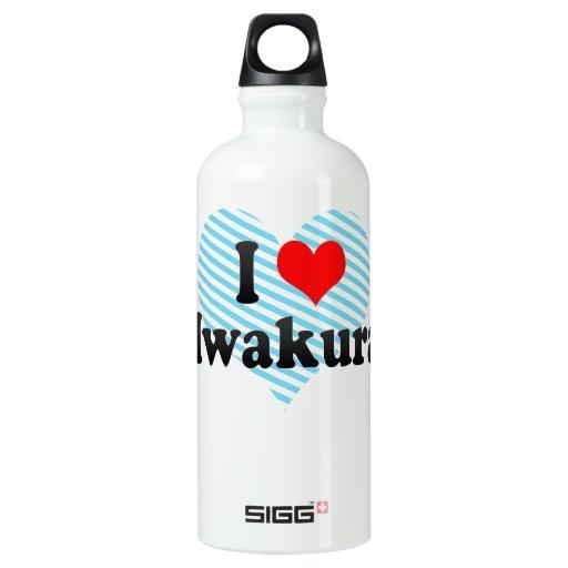 I Love Iwakura, Japan SIGG Traveler 0.6L Water Bottle