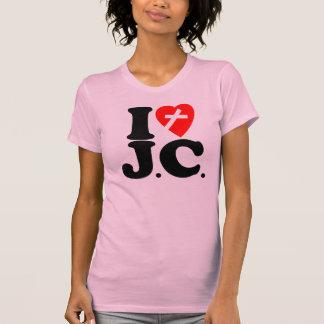 I LOVE J.C. T-SHIRT