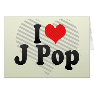 I Love J Pop Cards