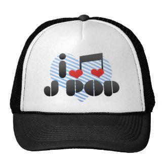 I Love J Pop Hat