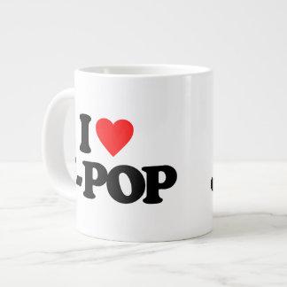 I LOVE J-POP LARGE COFFEE MUG