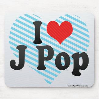 I Love J Pop Mouse Pad