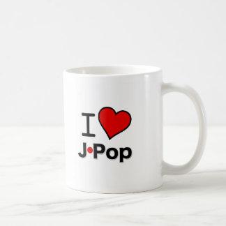 I Love J-Pop Coffee Mug
