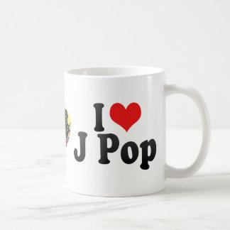I Love J Pop Mugs