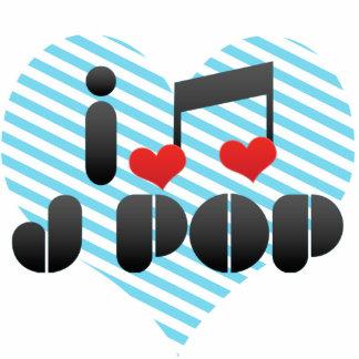 I Love J Pop Cut Out