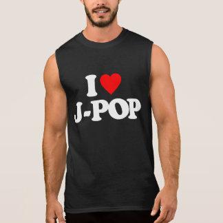 I LOVE J-POP SLEEVELESS SHIRT