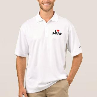 I LOVE J-RAP POLO SHIRT