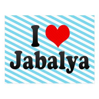 I Love Jabalya, Palestinian Territory Postcard