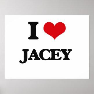 I Love Jacey Poster