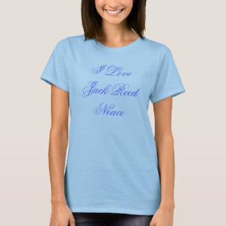 I Love Jack Reed Neace T-Shirt