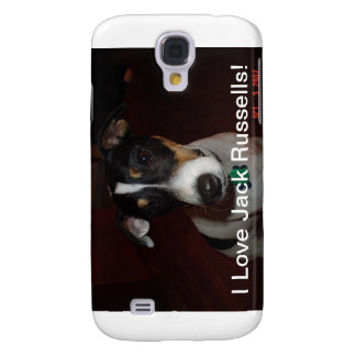 I Love Jack Russells  Speck Case Galaxy S4 Covers