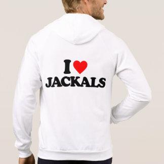 I LOVE JACKALS PULLOVER