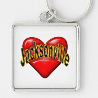 I Love Jacksonville Keychains