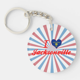 I Love Jacksonville, Oregon Key Chains