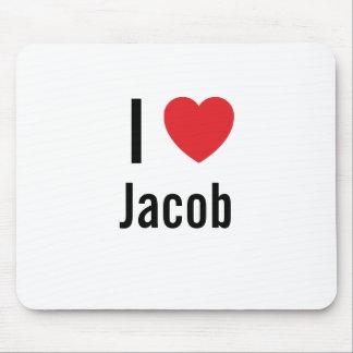 I love Jacob Mouse Pads