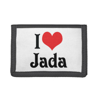 I Love Jada Tri-fold Wallets